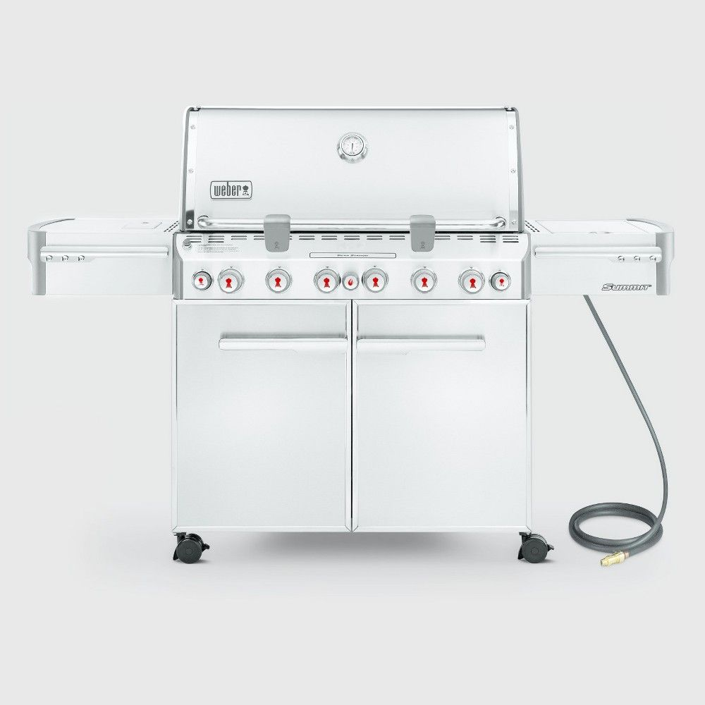 Weber Summit S 670 Natural Gas Grill Silver Gasgrills Grills Natural Gas Grill Gas Grill Grilling