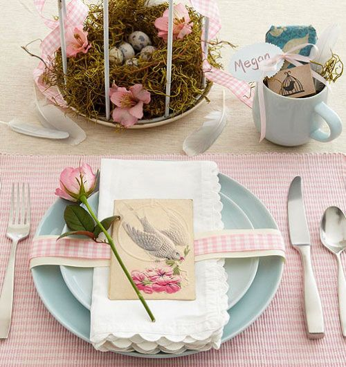Shabby Chic Inspired Setting