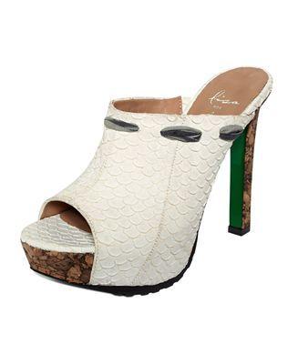 Donald J Pliner Detria High Heel Mules