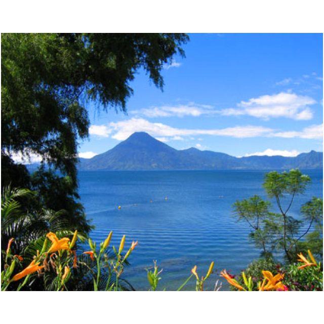 Lago de Atitlán, Guatemala.