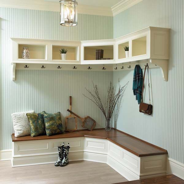 One Kindesign: 55 Absolutely Fabulous Mudroom Entry Design Ideas