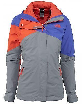 e313e90c7 North Face Cinnabar TriClimate Womens CA22-DZP Purple Grey Orange ...