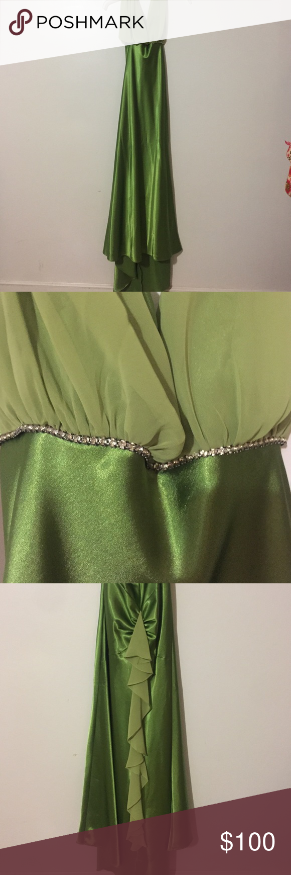 Prom dress evergreen and prom