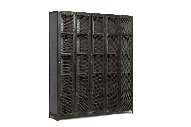 Grote Woonkamer Kast : Kik meubelen new brand industrial kast compleet van metaal