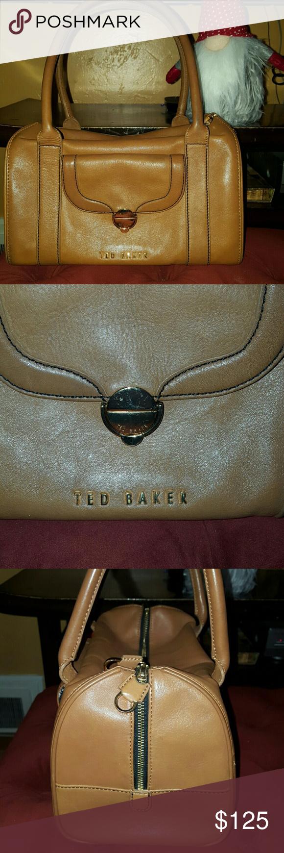 Flash Sale Ted Baker Leather Handbag Satchel Classic Leather Handbag Leather Handbags Ted Baker Bag