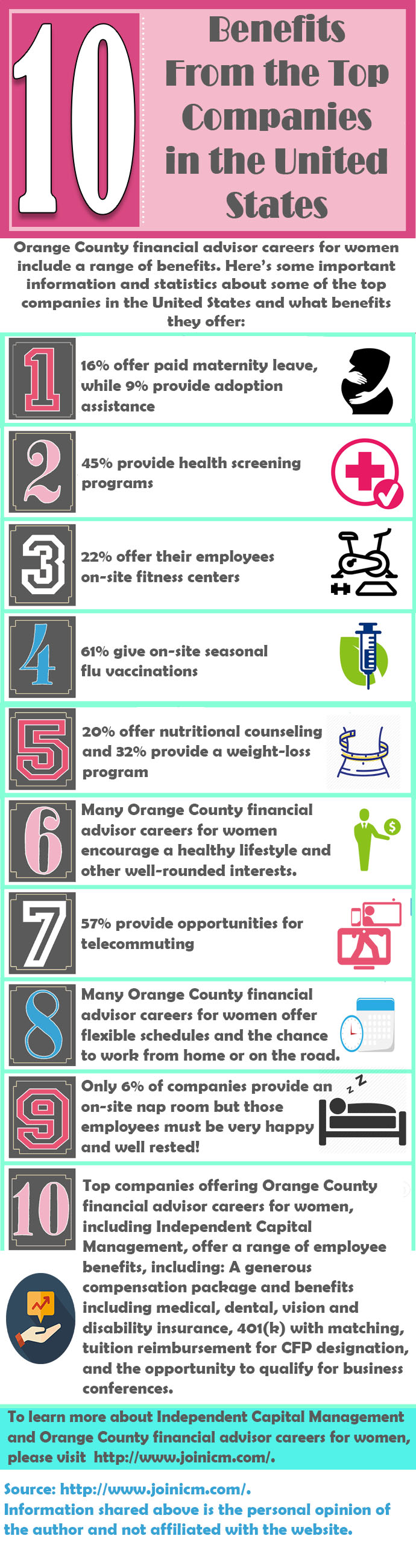 Orange County Financial Advisor Careers For Women Include A Range Of Benefits Source Http Www Joinicm Financial Advisor Career Financial Advisors Financial