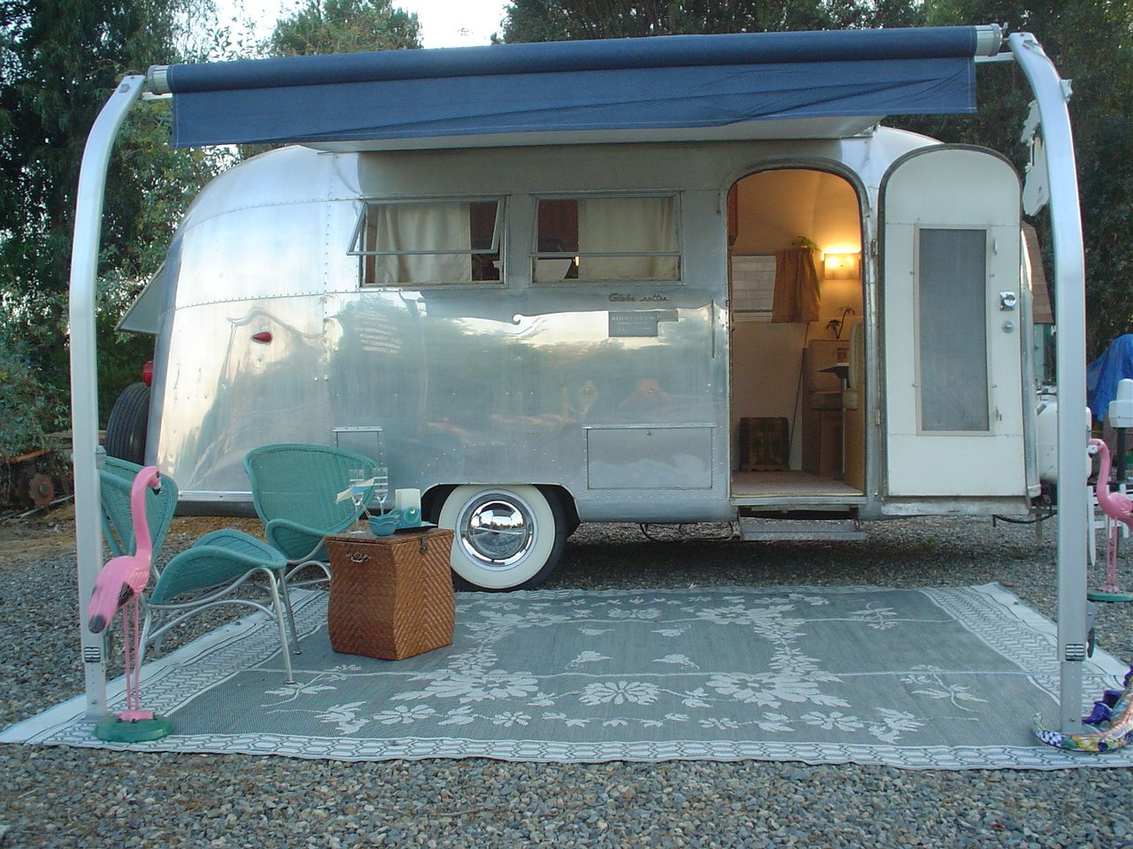 Vintage airstream trailers