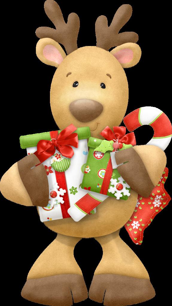christmas reindeer clip art - Christmas Reindeer