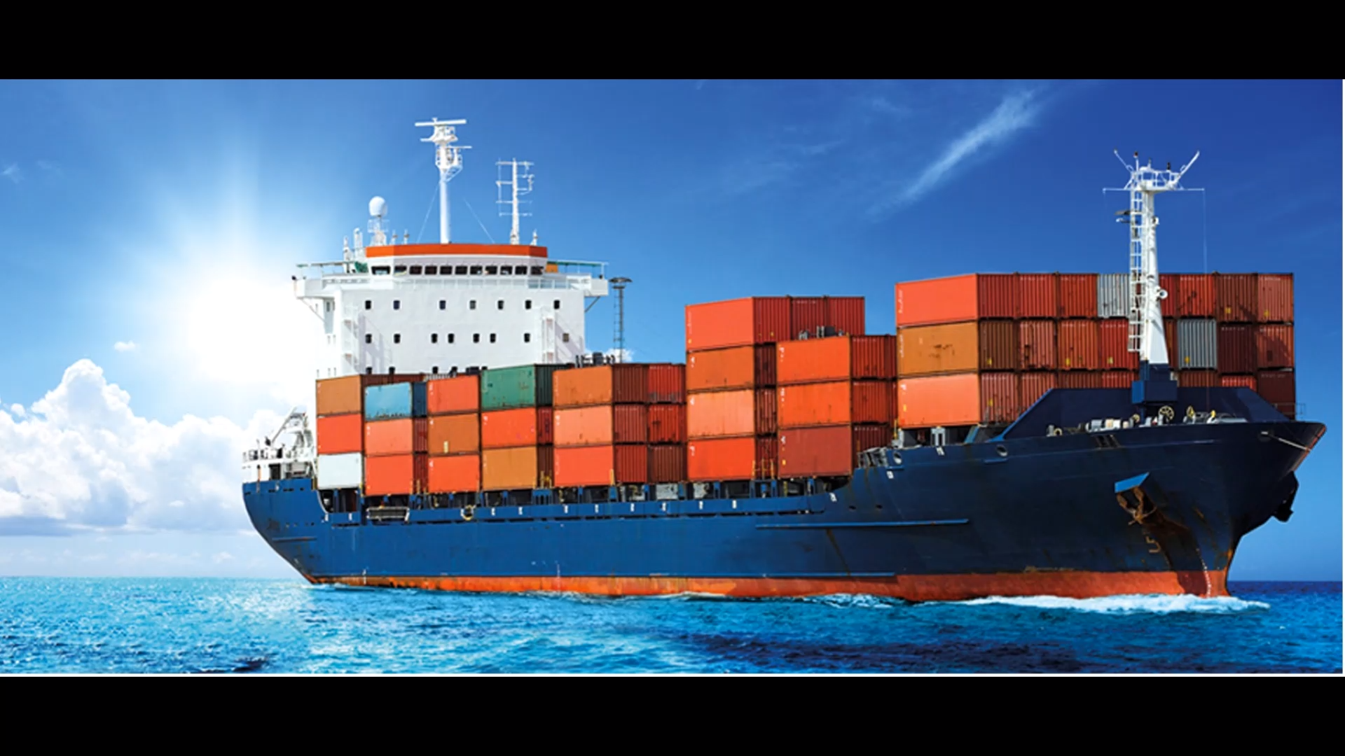 Sea Freight is the most common method of shipment for