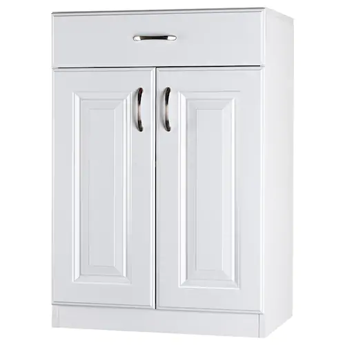 Estate By Rsi 23 75 In W Wood Composite Wall Mount Utility Storage Cabinet Lowes Com Utility Storage Cabinet Utility Storage Large Storage Cabinets