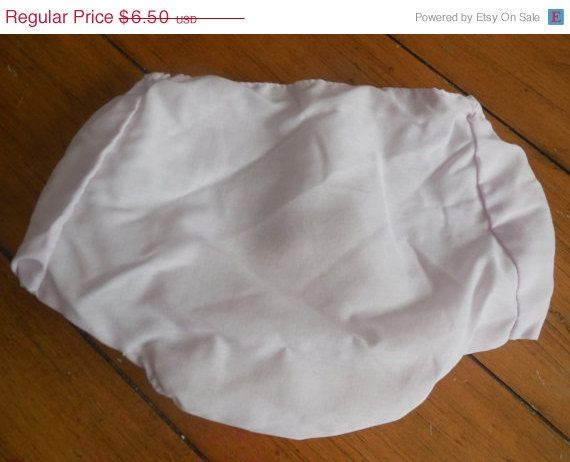 Sale Vintage Baby Girl Pale Pink Plastic  Diaper by LittleMarin