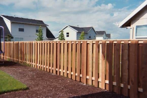 Types of wooden fences wood cedar