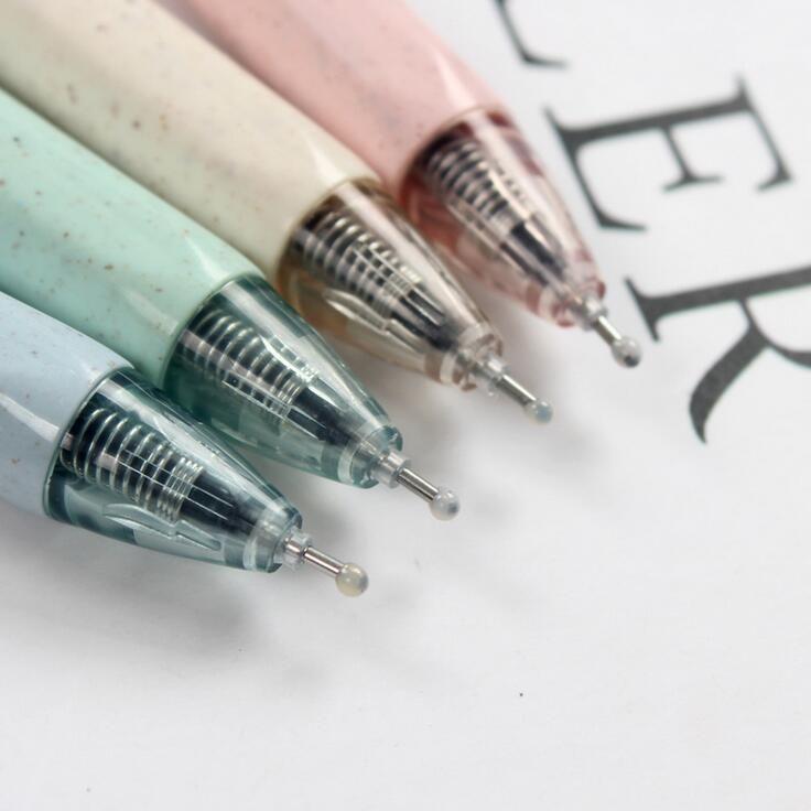 12pc Blue Ink Ball Pen Ballpoint w//Plush Roses Flower Writing Pen Desk Decor