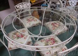 woodard rose pattern 50s sells on ebay rose patio