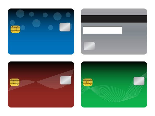 Bank Cards Templates Banks And Finance Vector Graphics Of Blank Credit Or Debit Business Card Template Word Credit Card Design Vertical Business Card Template
