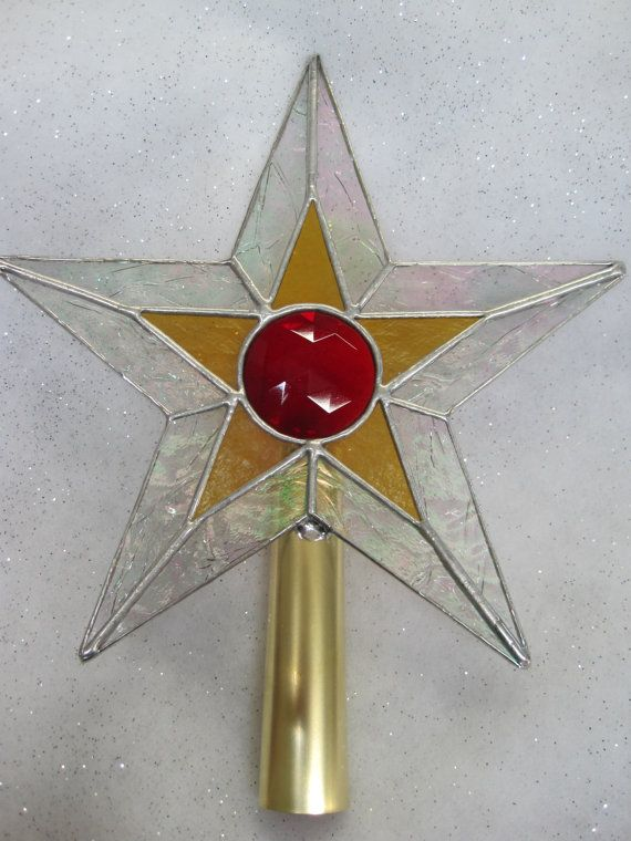 New design for Christmas tree topper Stained Glass Star Christmas Tree  Topper by RenaissanceGlass, $60.00 - New Design For Christmas Tree Topper Stained Glass Star Christmas