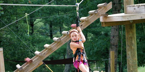 Kid Zipline Ziplining Adventure Center Kids Zipline