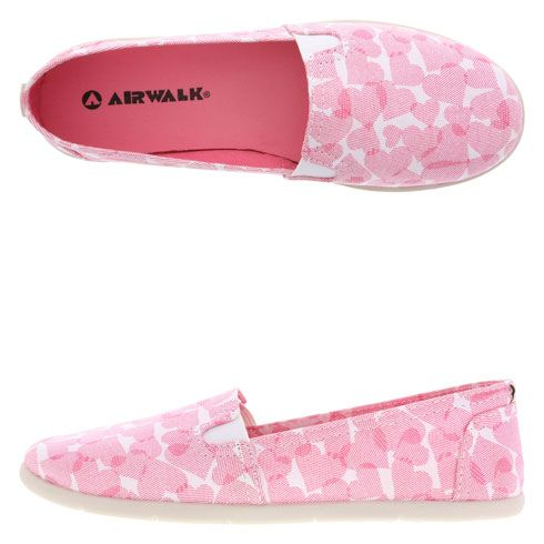 Pink Heart Shoes - Women's Dream Slip-On at Payless.com