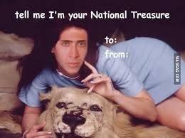 Nick Cage Valentine S Cards Are Weird Nicolas Cage Pinterest