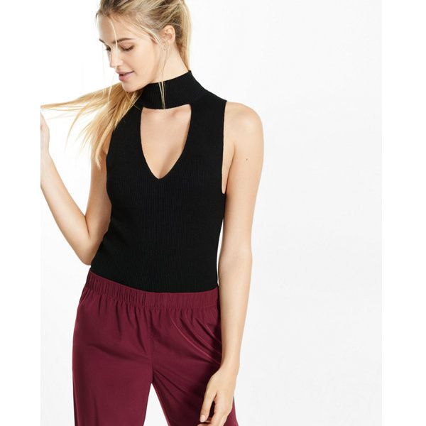 Designer Clothes, Shoes & Bags for Women | SSENSE. Sleeveless Turtleneck  TopRibbed ...