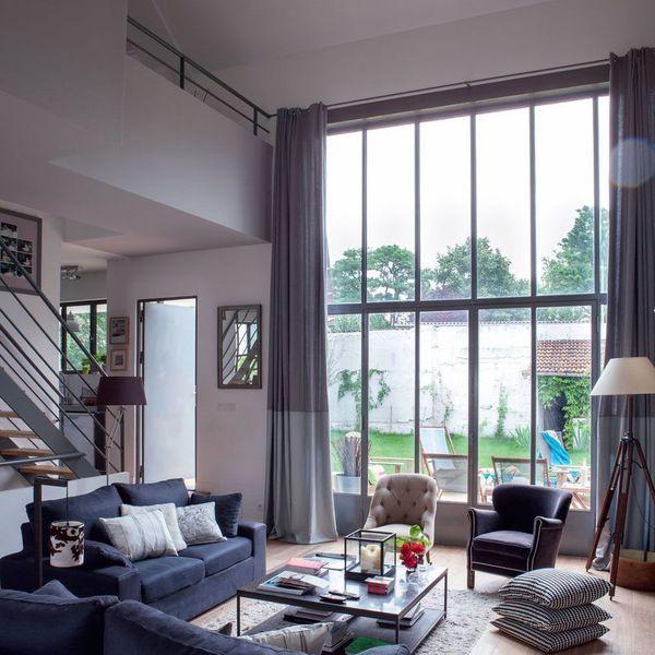 Une extansion de 130 m2 pour une petite maison de 40m2 Salons - plan extension maison 40m2