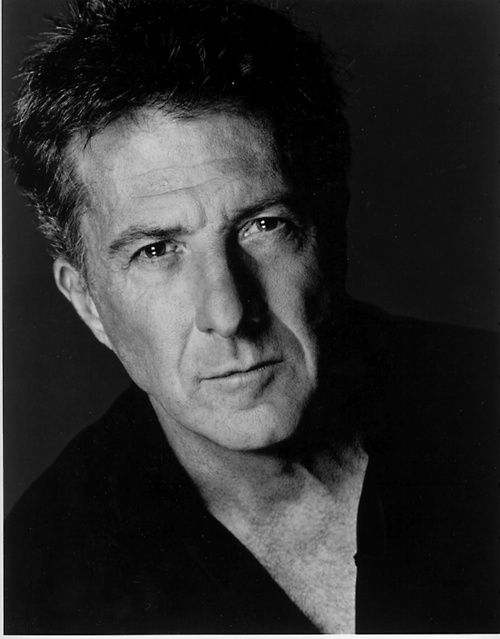 Dustin Hoffman - we met in the West End in London, he signed a message to my mum!