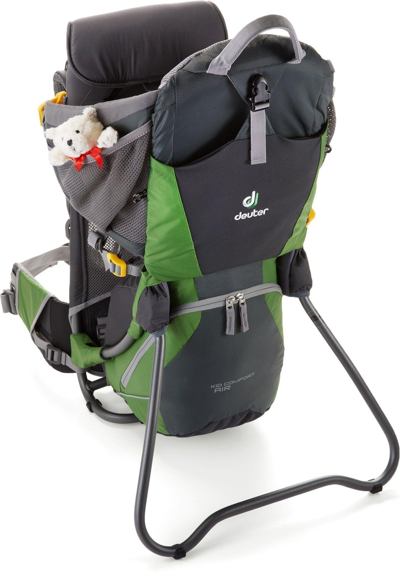 648cc86d0c2 Deuter Kid Comfort Air Child Carrier Granite Emerald