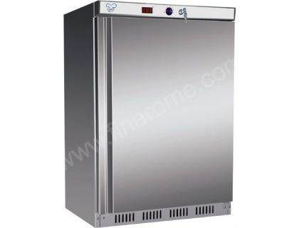 Armoire réfrigérée négative inox professionnelle - 200L Armoire