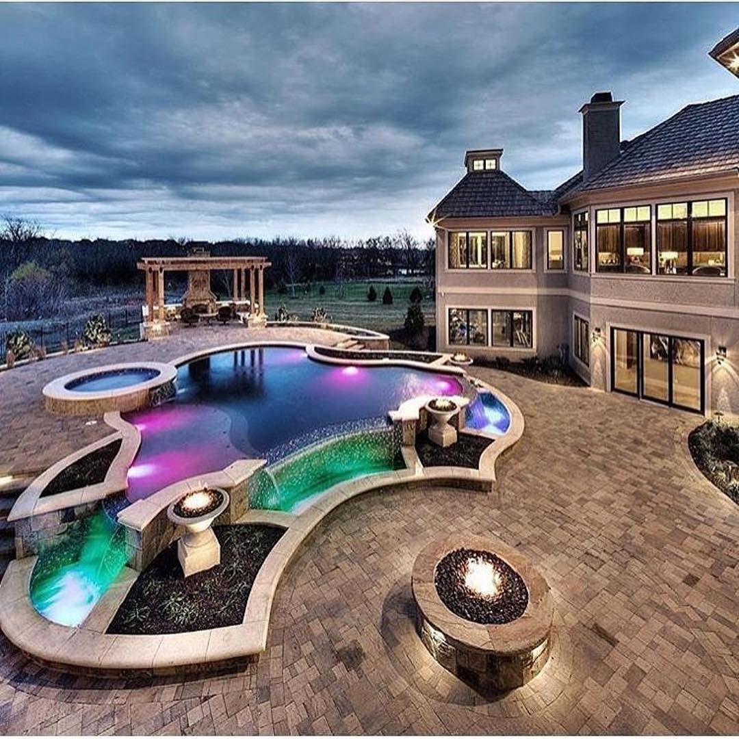 richfamous | Dream pools, Luxury pools, Mansions