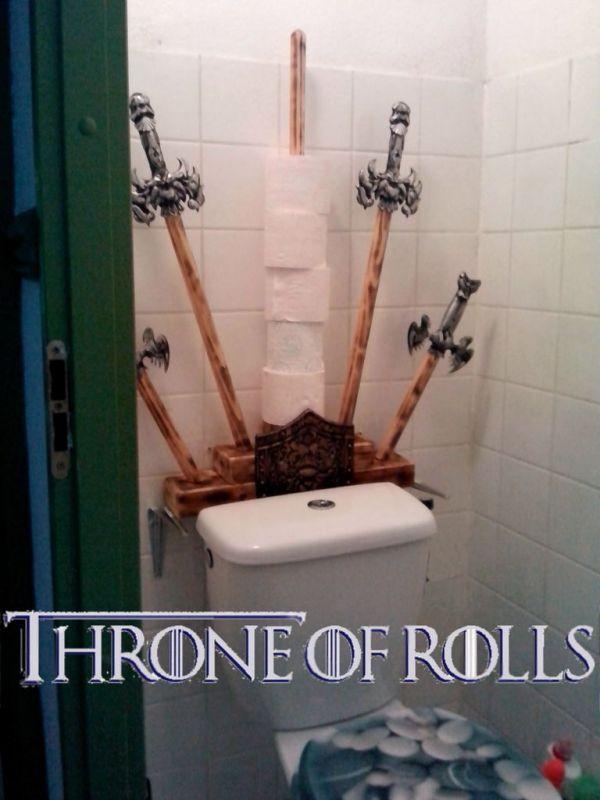 Toilettes Game Of Thrones Toilette Fabriquer Soi Meme Et Les