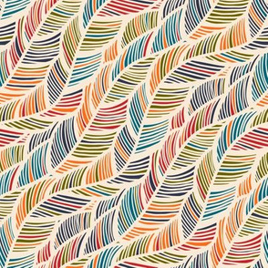 Colorful fabrics digitally printed by Spoonflower - Color waves