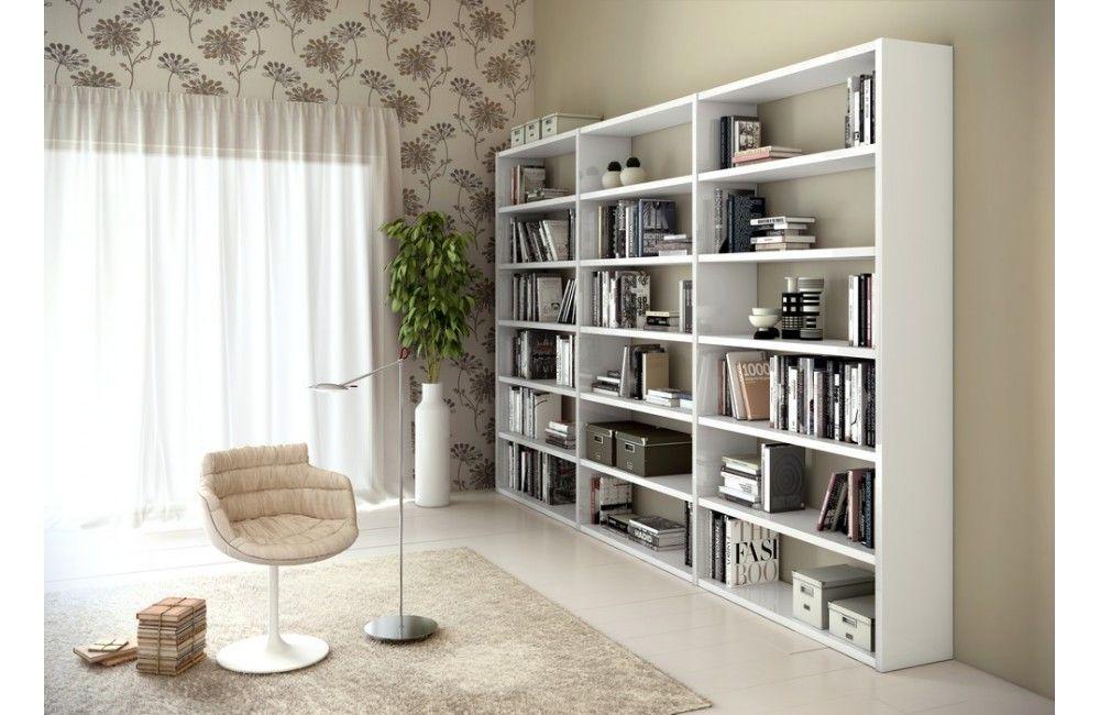 grande biblioth que de salon moderne meuble de salon design meuble et projets. Black Bedroom Furniture Sets. Home Design Ideas