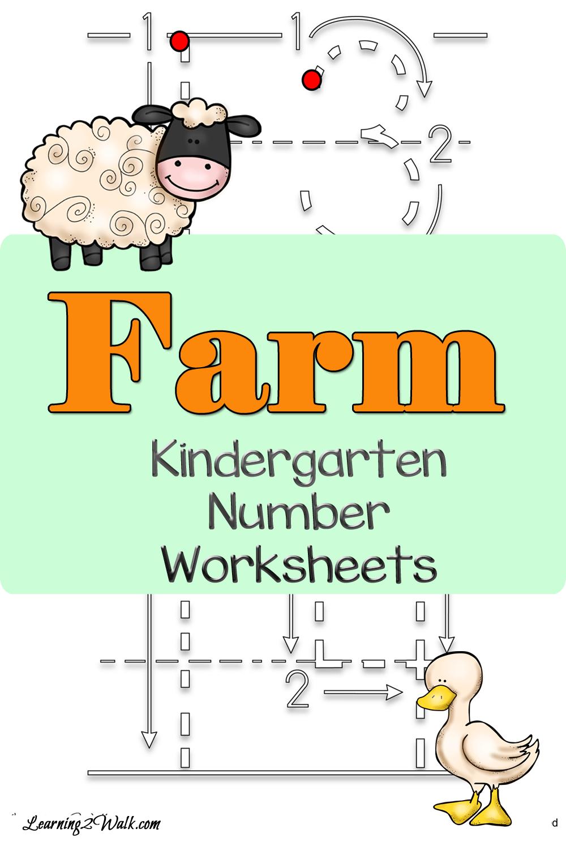 Farm Kindergarten Number Worksheets Number Worksheets Kindergarten Numbers Kindergarten Preschool Worksheets Free Printables [ 1500 x 1000 Pixel ]