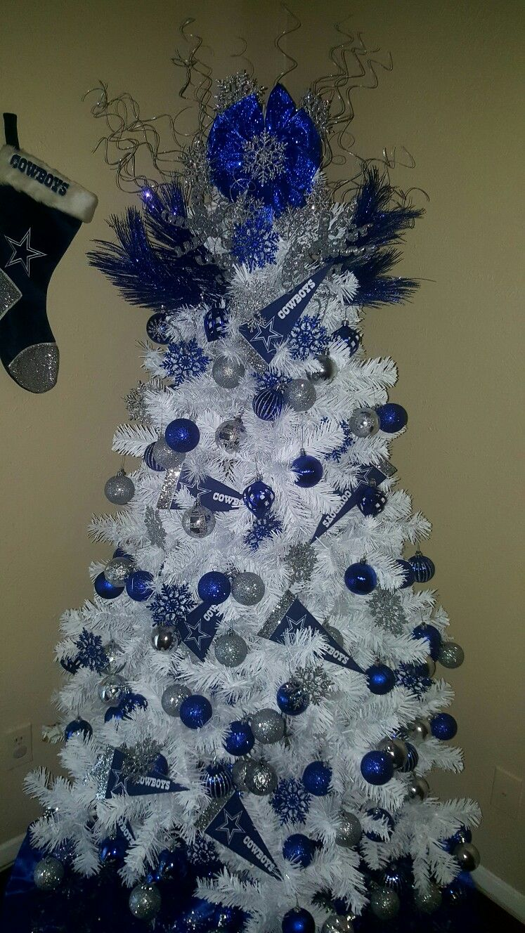 our dallas cowboys christmas tree