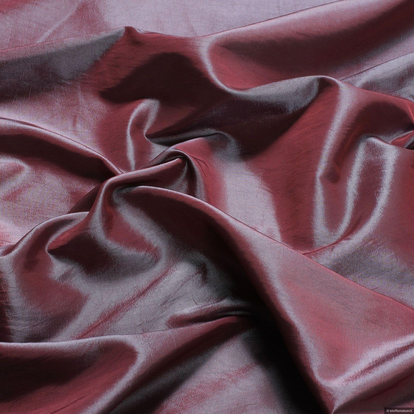 Polyester Kleidertaft lila blau changierend