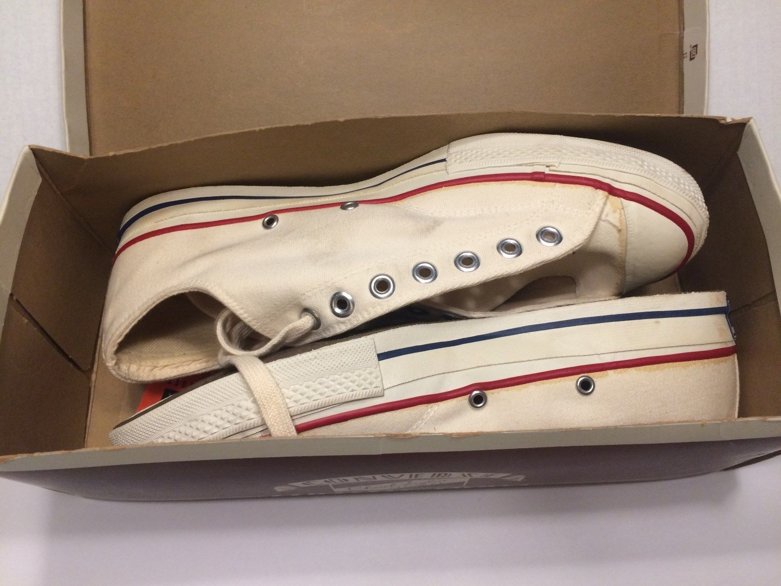 083bdf0d424a4d Details about Vintage CONVERSE Chuck Taylor ALL STAR Low Top ...