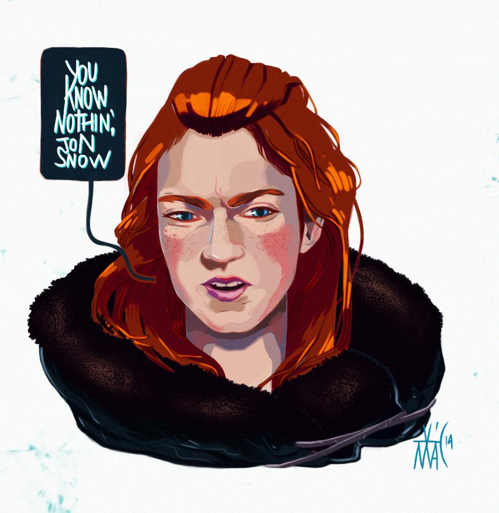 Game of Thrones - GoT - Ygritte by vicmac.deviantart.com on @deviantART