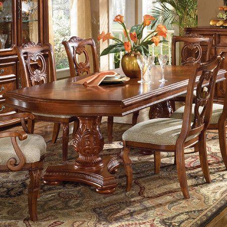 20++ Double pedestal dining room sets Trending