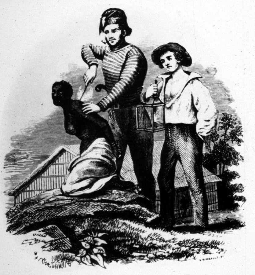 Branding an Enslaved Woman, 19th cent.