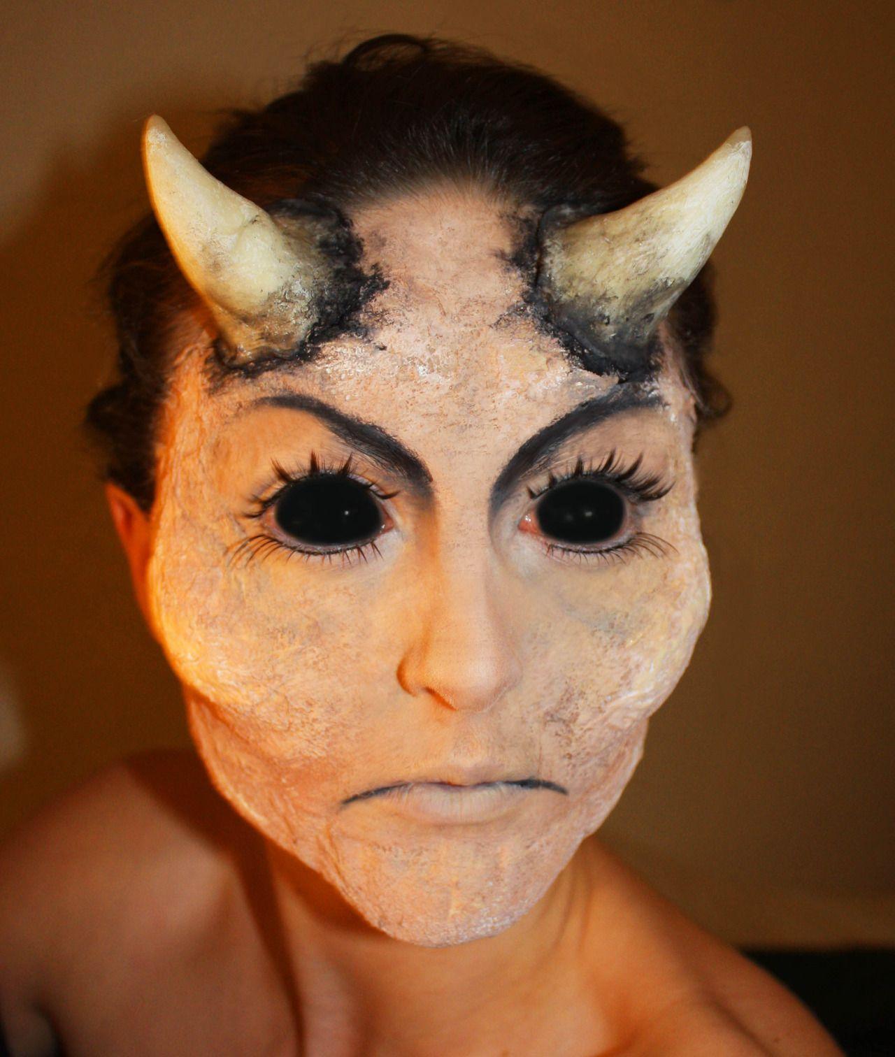 Special FX Demon makeup www.leylamitchell.com | Special FX Makeup ...