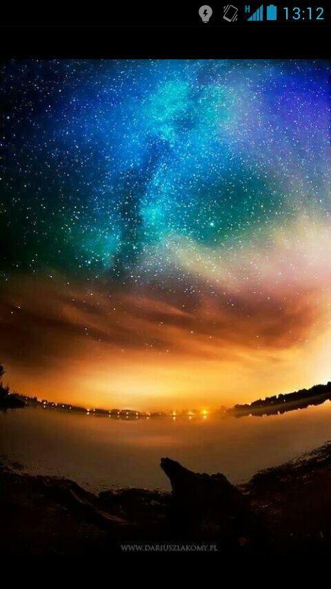 Aurora boreal Sky in 2019 Sky Milky way Night skies