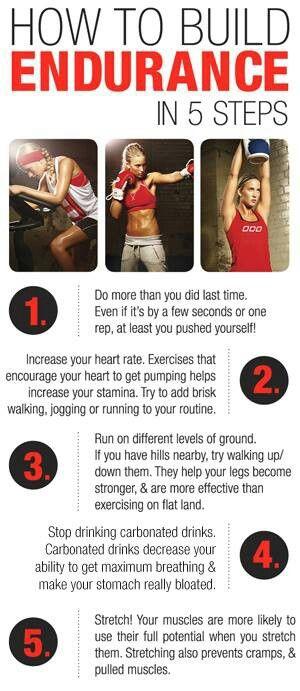 how do i get more stamina