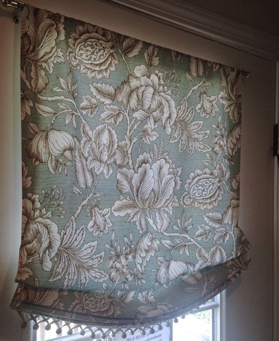 Valance, Roman Shade Curtain