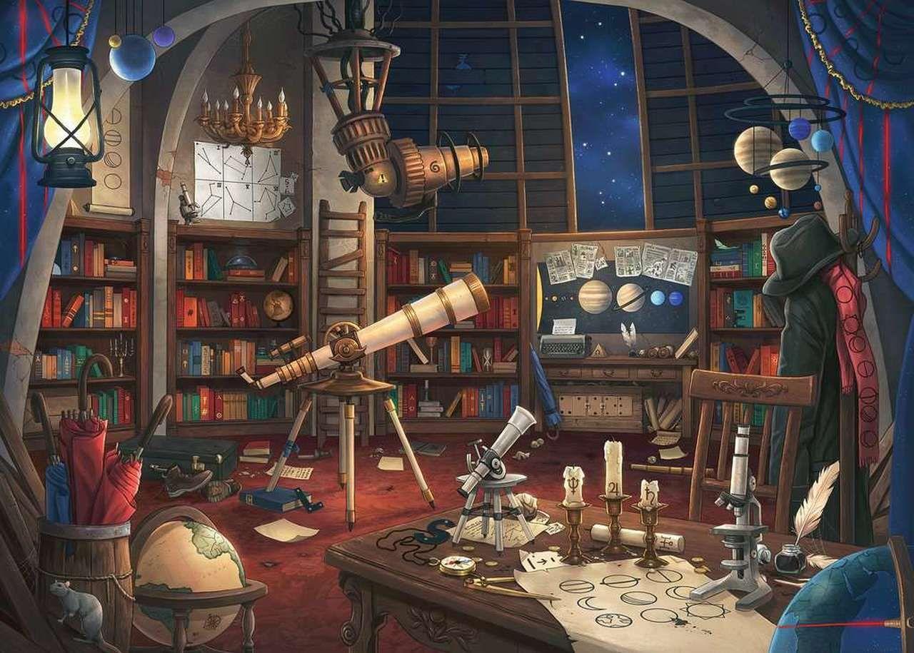 Photo of Ravensburger Escape Puzzle: Observatory. Art: Jonas Jodicke.#824731.  New