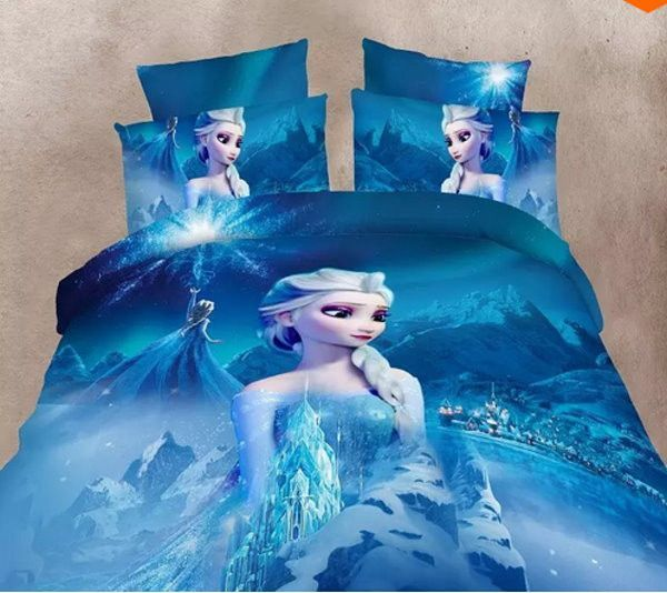New Design Elsa Frozen Twin Duvet Cover, Elsa Bedding Set Queen