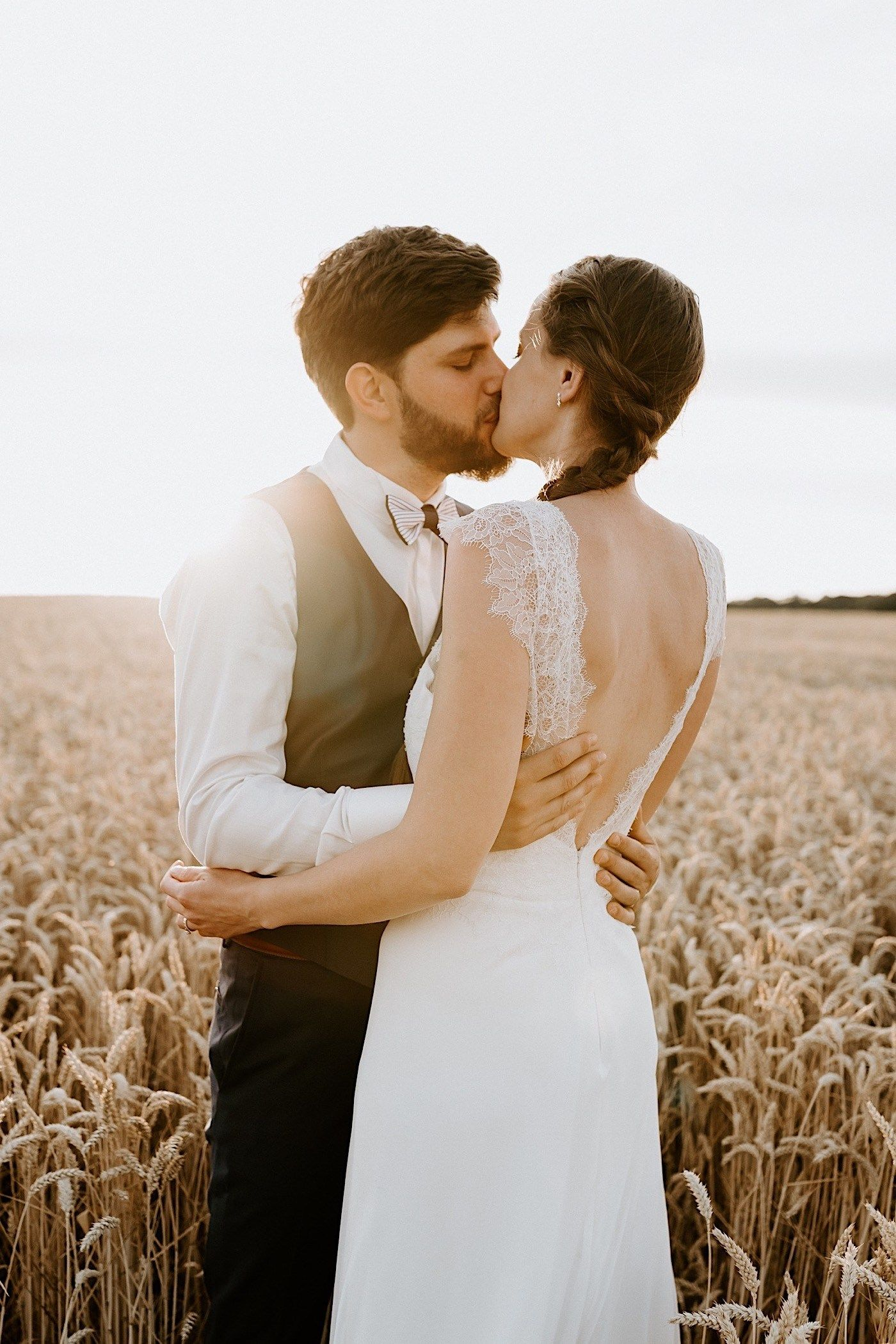 France After Wedding Day Session In Champagne Aurelie Antoine Anais Possamai Photography Rural Wedding Countryside Wedding France Wedding
