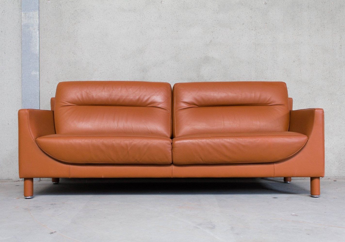 Brown Leather Sofa By De Sede Leather Sofa Sofa Love Seat