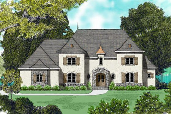 House Plan 413-817 | Exteriors and Floorplans | Pinterest | House ...