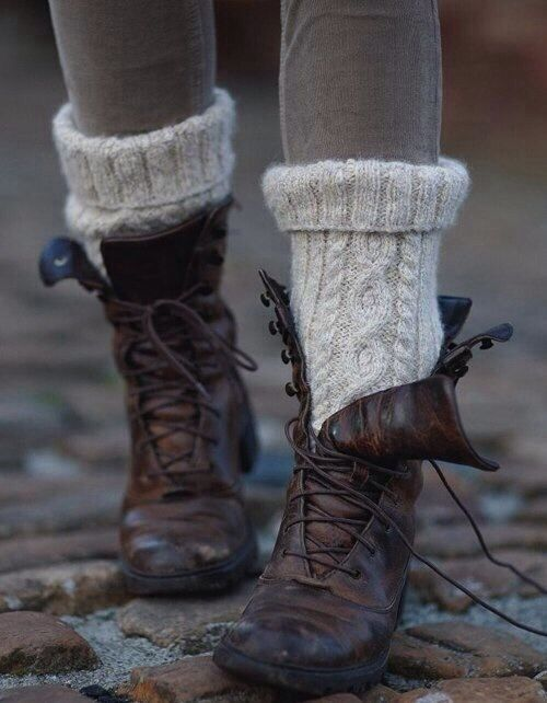 Love the socks and boots