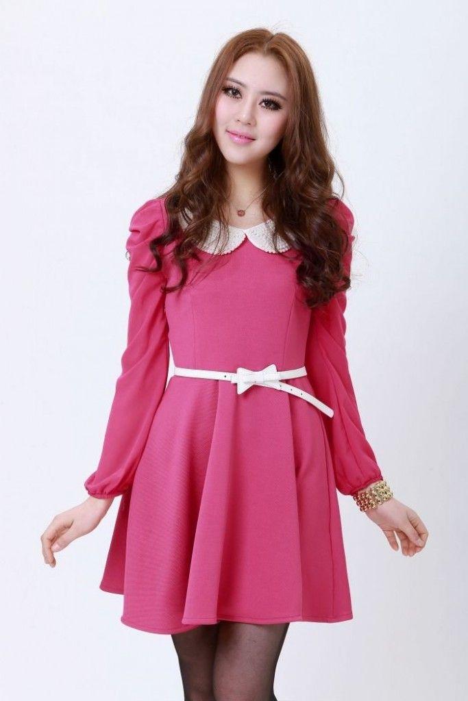 vestidos de festa com manga - Pesquisa Google | Vestidos Media ...